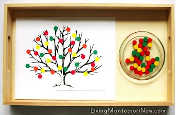 Montessori Inspired Fall Activities with Spielgaben