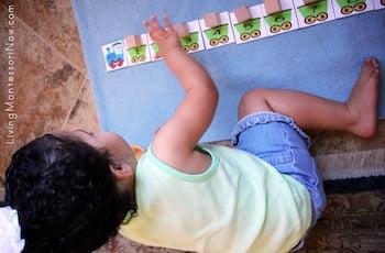 Montessori Train Activities with Spielgaben