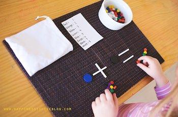 Simple Addition Game with Spielgaben